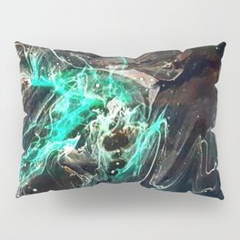 Peering into the darkness Pillow Sham