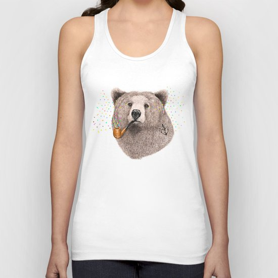 Sailor Bear Unisex Tank Top