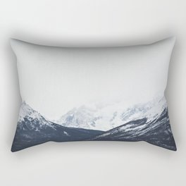 Minimal mountains Rectangular Pillow