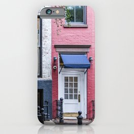 Old Greenwich Village apartment iPhone Case