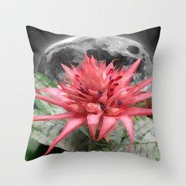 MOON - FLOWER 009 Throw Pillow