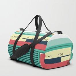 Old School Radio Duffle Bag