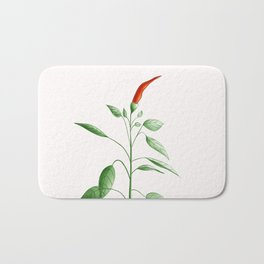 Little Hot Chili Pepper Plant Bath Mat