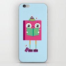 Books lover iPhone & iPod Skin