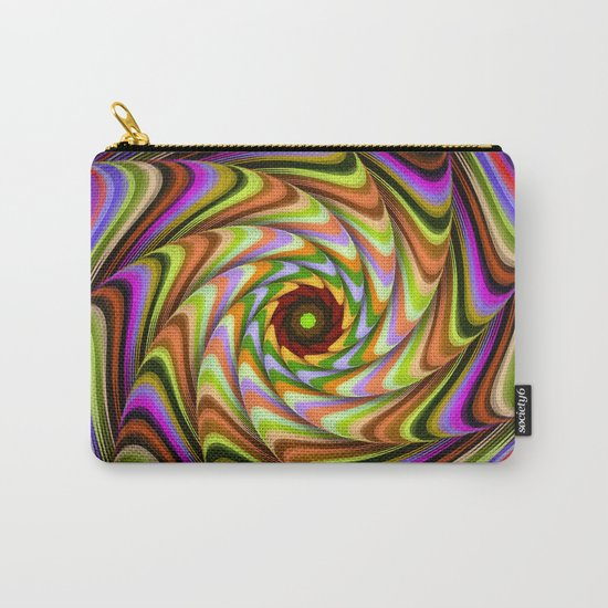 Colourful psychedelic motion Carry-All Pouch