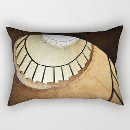 Spiral Staircase Rectangular Pillow