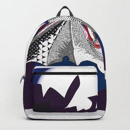 bat pattern Backpack