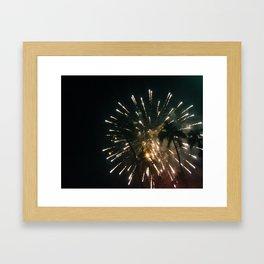 Electric Palms HNL Framed Art Print