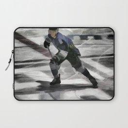 Let's Go! - Ice Hockey Player Laptop Sleeve