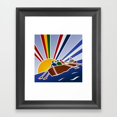 Palio Marinaro dell'Argentario 2012 Framed Art Print