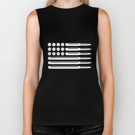 Bullets American Flag Usa Pro Gun Rights Infidel Nra Patriotic t-shirts Biker Tank