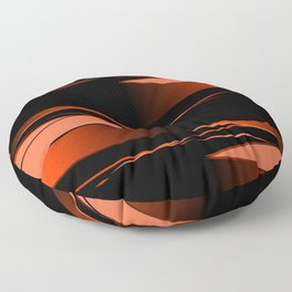 Black and red Floor Pillow