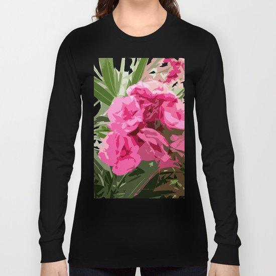 Summer oleander Long Sleeve T-shirt