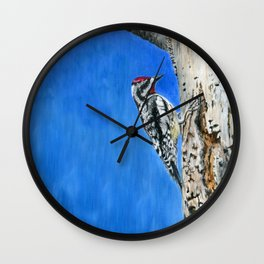 The Nectar Collector by Teresa Thompson Wall Clock