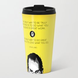 Steve Jobs Quote Travel Mug