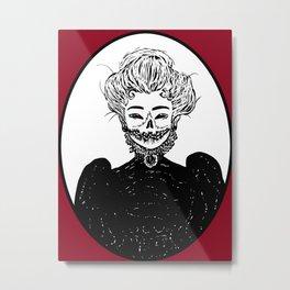 Cameo Metal Print