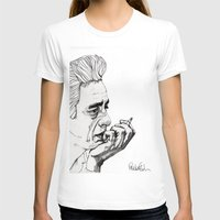 50s T-shirts featuring Man in Black by Paul Nelson-Esch Art