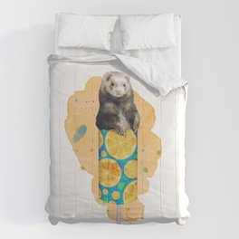 Ferret Push Up Pop Comforters