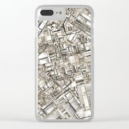 City 11 Clear iPhone Case