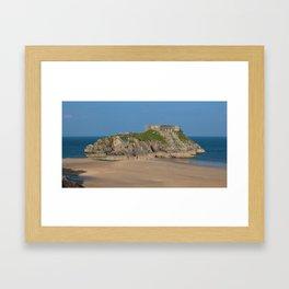 St Catherine's Island Framed Art Print