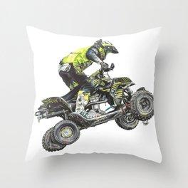 ATV Throw Pillow