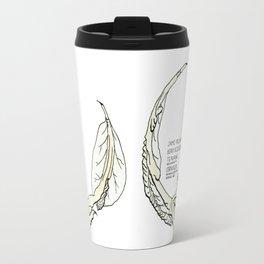 Cornvoler Beverage Beastie with Origin Story Travel Mug