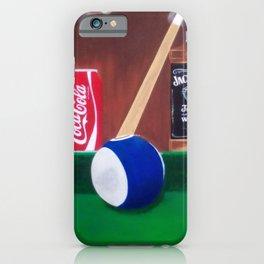 Pool anyone iPhone Case