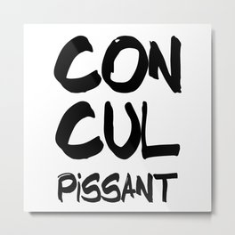 Concupiscent Metal Print