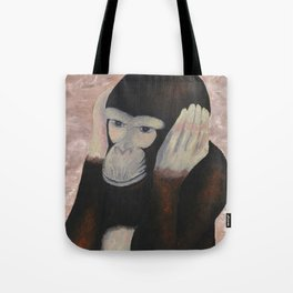 Kikazaru - 3 wise monkeys  Tote Bag