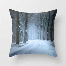 A Winter Wilderness Throw Pillow