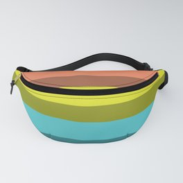 Accordion Fold Series Style C Fanny Pack