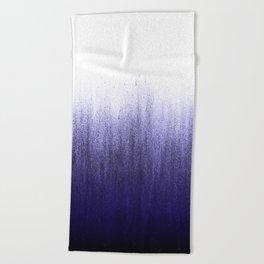 Lavender Ombré Beach Towel
