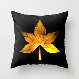 Autumn Leaves: Frame 200 Throw Pillow