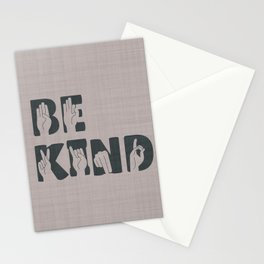 Always Be Kind Stationery Cards