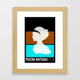 Women of the World: Mother Russia Framed Art Print