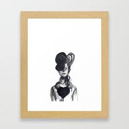 Woman XY 101 Framed Art Print