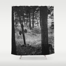 Estonian Gothica Shower Curtain