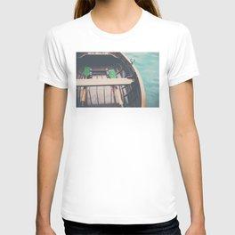 drifting on Lake Bled photograph T-shirt