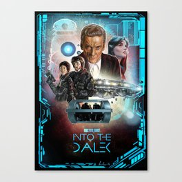 Doctor Who: Into The Dalek Canvas Print