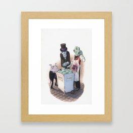 Gourmets Framed Art Print