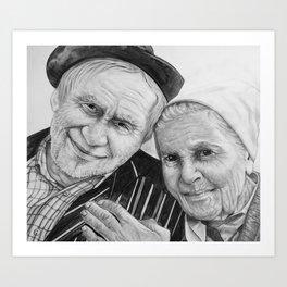 Geno and Carmella Art Print