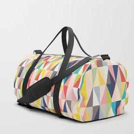 Abstract Geo Diamonds Duffle Bag