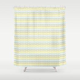 Tribal Stripe Shower Curtain