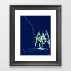 I Am Light Framed Art Print
