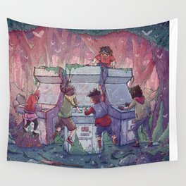 Hardcore Lady-Types: Ode to Lumberjanes Wall Tapestry