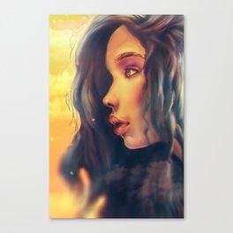 WonderGirl Canvas Print
