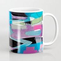 sci fi Mugs featuring Sci-Fi by Scotty6000
