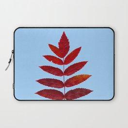Red Sumac Leaves Laptop Sleeve