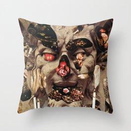 Glutton Throw Pillow