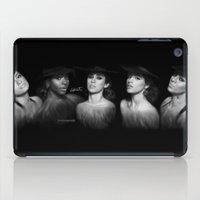 fifth harmony iPad Cases featuring Fifth Harmony 'Reflection' Digital Painting by Emilia Apreda